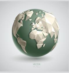 Triangular world vector