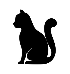 cat feline pet vector image