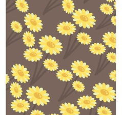 chrysanthemums wallpaper vector image