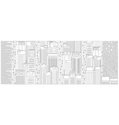 Background banner manhattan new york vector