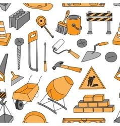 Doodle pattern construction vector