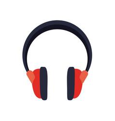 Headphones music sound device vector