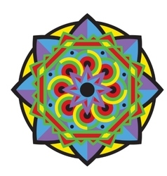 Mandala or circular pattern vector