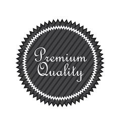 premium quality design vector image
