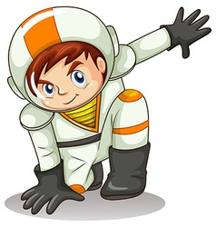 An energetic astronaut vector