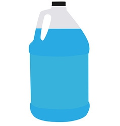 Big bottle water vector