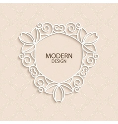 a modern invitation vector image