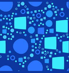 Blue modern geometrical abstract background with vector