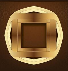 Elegant islamic template design vector