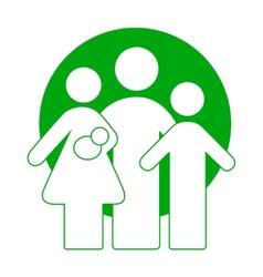 Family logotype vector image