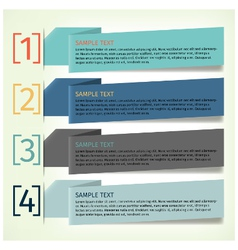 Infographics design template banner vector
