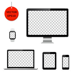 Technology devices and electronic gadgets with vector