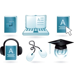 Digital learning vector
