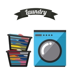 Laundry service vector