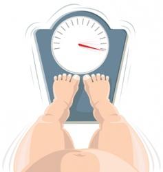 Overweight concept vector