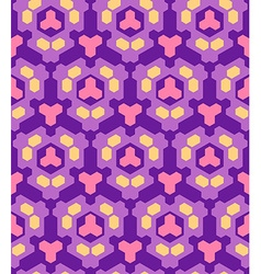 Violet purple orange pink color abstract geometric vector