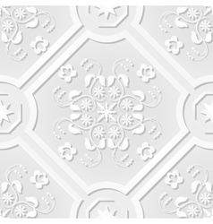 Seamless pattern vintage victorian tile vector