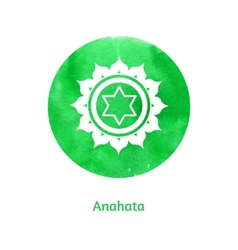 Anahata chakra vector