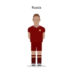 Football kit russia vector
