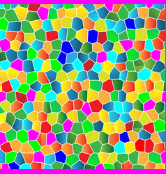 glass colorful mosaic background vector image vector image