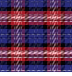 seamless Scottish pattern Saint Andrews Tartan vector image
