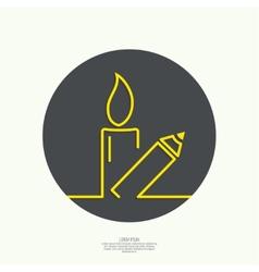 Symbol of solidarity in paris vector