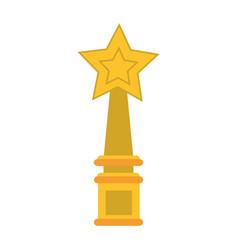 trophy prize icon image vector image vector image