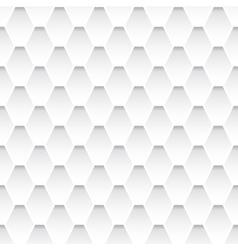 White seamless rhombus pattern vector
