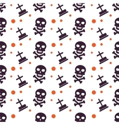 Happy halloween background seamless pattern vector