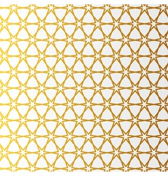 Arabic pattern gold style Traditional arab east vector image vector image