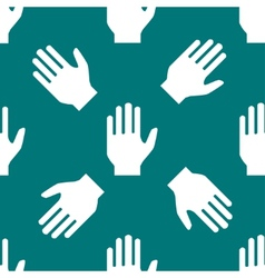 Hand web iconflat design seamless pattern vector