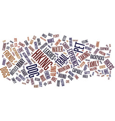 The outdoor hound text background word cloud vector