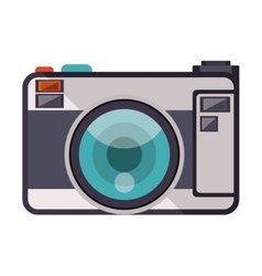 Phographic camera icon vector