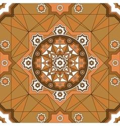 Oriental ornate seamless pattern ethnic bright vector
