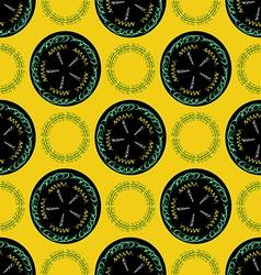 Boho pattern4 vector