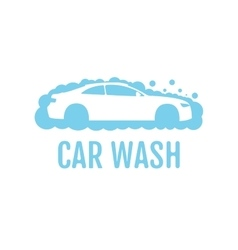 Car wash logo design layout Corporate vector image