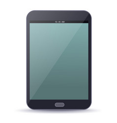 ebook device with blank screen vector image