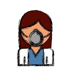 medical mask design vector image
