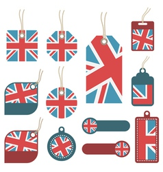 uk tags vector image