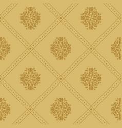 vintage royal pattern vector image vector image