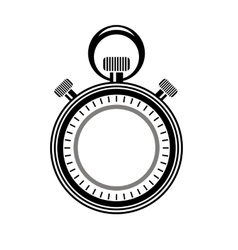 Second timer icon isolated watch logo vector