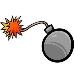 Bomb clip art cartoon vector
