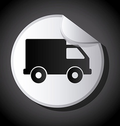 Truck design vector