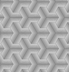 Monochrome gray halftone striped tetrapods vector