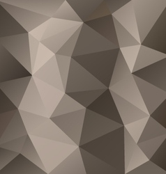 Brown gray triangular pattern background vector