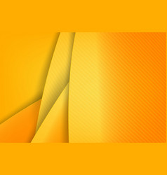 Abstract background basic geometry yellow layered vector
