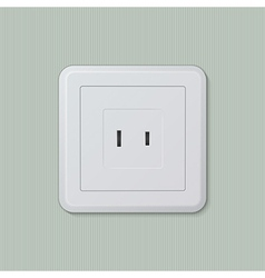 American electric socket 04 vector