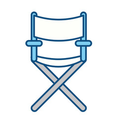 Confortable seat object element vector