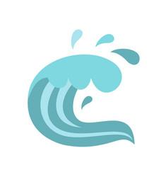 sea icon cartoon style vector image