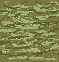 Jungle tiger stripe camouflage seamless patterns vector